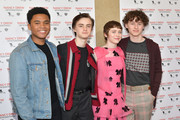 Sophia Lillis and Chosen Jacobs Photos Photo