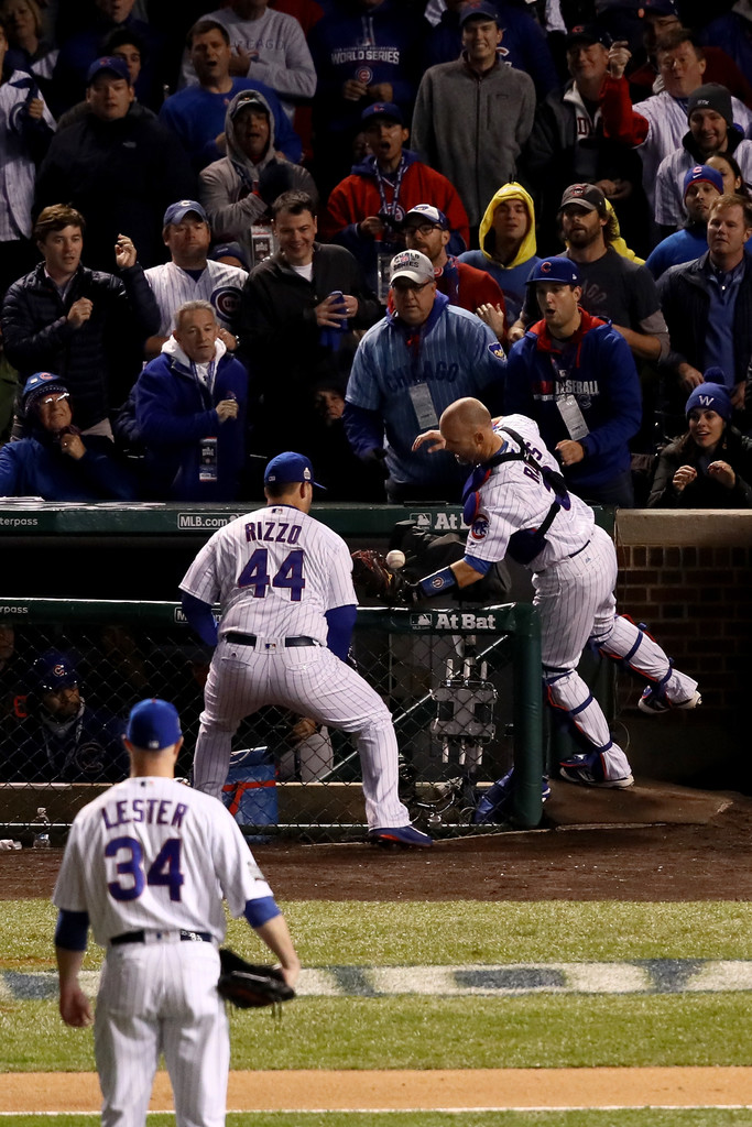 cubs indians chicago series cleveland game five zimbio