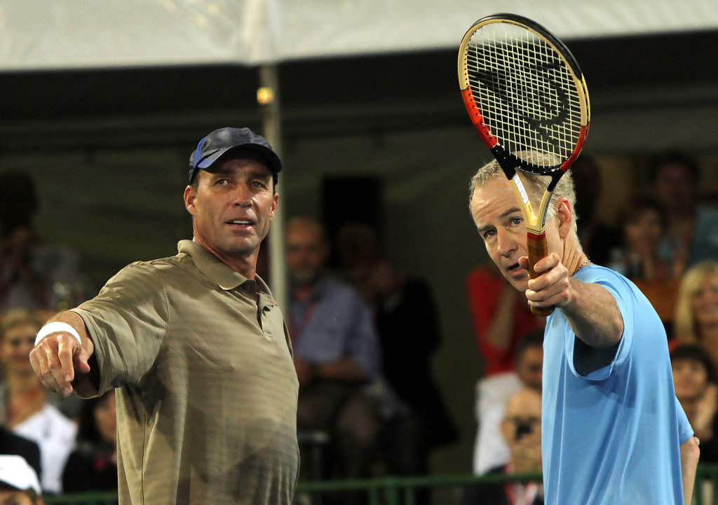 John Mcenroe And Ivan Lendl Photos Photos World Tennis