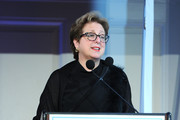 President of U.S. Fund for UNICEF Caryl Stern speaks on stage during World of Children Awards 2017 at 583 Park Avenue on November 2, 2017 in New York City.