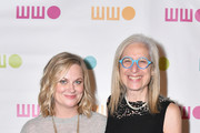 Amy Poehler (L) and Worldwide Orphans Foundation CEO and President Dr. Jane Aronson attend the Worldwide Orphans 14th Annual Gala at Cipriani Wall Street on November 5, 2018 in New York City.