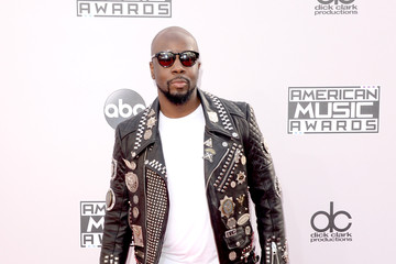 Wyclef Jean Arrivals at the American Music Awards — Part 3