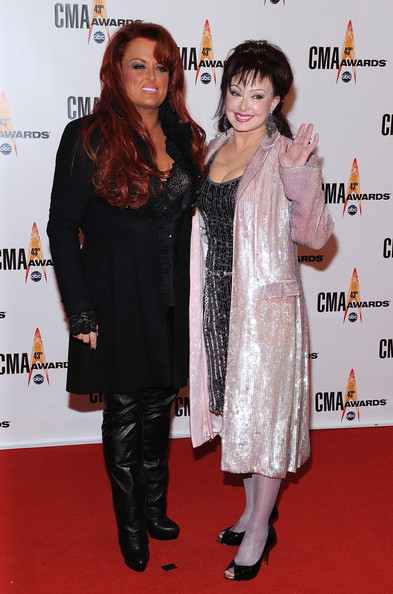 naomi judd wynonna judd. Singers Wynonna Judd and Naomi Judd attends the 43rd Annual CMA Awards at the Sommet Center on November 11, 2009 in Nashville, Tennessee.