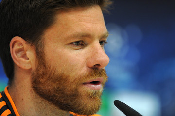 Xabi Alonso Real Madrid CF Training Session