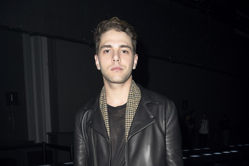 Xavier Dolan Front Row at Moncler Gamme Rouge