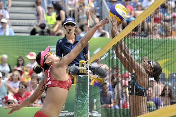 Xi Zhang FIVB Beach Volleyball World Championships - Day 5