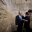 Yair Netanyahu Prime Minister Netanyahu Visits The Western Wall on Election Day