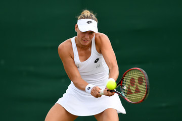 Yanina Wickmayer Day Two: The Championships - Wimbledon 2017