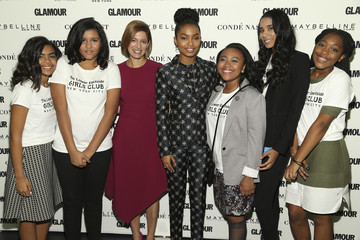 """Yara Shahidi Glamour Hosts """"A Brighter Future: A Global Conversation on Girls' Education"""" With First Lady Michelle Obama"""