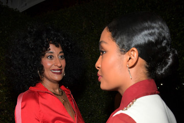 Yara Shahidi Tracee Ellis Ross Marie Claire's Image Makers Awards 2018 - Red Carpet