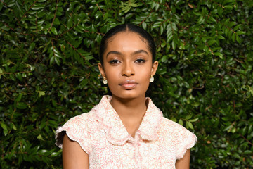 Yara Shahidi Charles Finch And Chanel Pre-Oscar Awards Dinner At Madeo In Beverly Hills