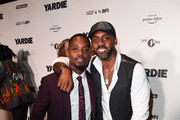 Aml Ameen and Fraser James attend the after party of Yardie. Yardie is released in UK cinemas on 31st August at BFI Southbank on August 21, 2018 in London, England.