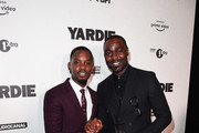 Aml Ameen and Andrew Cole attend the Premiere of Yardie. Yardie is released in UK cinemas on 31st August at BFI Southbank on August 21, 2018 in London, England.