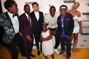 Duramaney Kamara, Aml Ameen, Adnan Mustafa, Myla-Rae Hutchinson-Dunwell, Idris Elba, guest and Spike Lee attend the after party of Yardie. Yardie is released in UK cinemas on 31st August at BFI Southbank on August 21, 2018 in London, England.