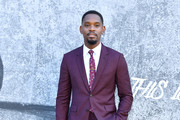 """Aml Ameen attends the UK premiere of """"Yardie"""" at the BFI Southbank on August 21, 2018 in London, England."""