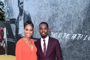 Aml Ameen and guest attend the Premiere of Yardie. Yardie is released in UK cinemas on 31st August at BFI Southbank on August 21, 2018 in London, England.