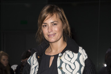 Yasmin Le Bon Front Row at the Fashion East Show