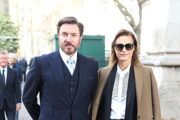 Yasmin Le Bon Memorial Service Held for David Frost