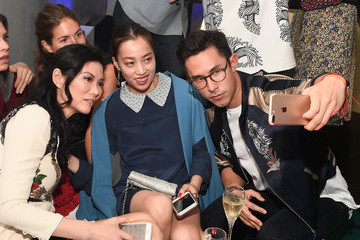 Yi-Zhou L'Eden By Perrier-Jouet Cocktail Party With Derek Blasberg