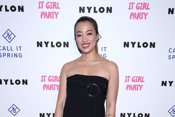 Yi-Zhou NYLON's Annual It Girl Party At The Ace Hotel Sponsored By Call It Spring