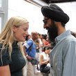 Waris Ahluwalia Kate Foley Photos
