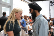 Waris Ahluwalia Kate Foley Photos Photo