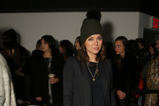 Kelly Framel attends the Yigal Azrouel fashion show on February 15, 2015 in New York City.