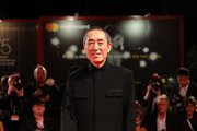 "Zhang Yimou  attends ""Ying (Shadow)"" screening and 2018 Jaeger-LeCoultre Glory To The Filmaker Award to Zhang Yimou during the 75th Venice Film Festival at Sala Grande on September 6, 2018 in Venice, Italy."