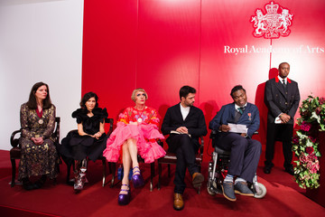 Yinka Shonibare The Queen and Duke of Edinburgh Attend an Awards Ceremony at The Royal Academy of Arts