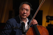 Yo-Yo Ma performs on SiriusXM's Symphony Hall hosted by David Srebnik at SiriusXM Washington D.C. Studios on June 25, 2018 in Washington, DC.