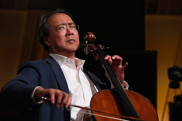 Yo-Yo Ma Performs On SiriusXM's Symphony Hall At The SiriusXM Washington, D.C. Studios