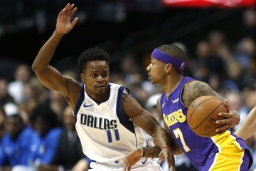 Yogi Ferrell Los Angeles Lakers v Dallas Mavericks