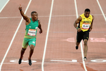 Yohan Blake Athletics - Commonwealth Games Day 5