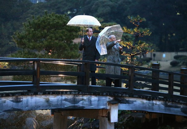 Prince William Visits Japan: Day 1