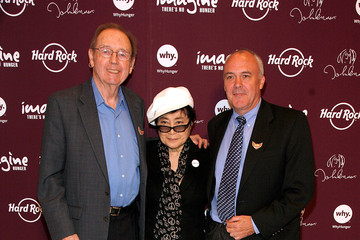 Hamish Dodds Yoko Ono Lennon For 'Imagine There's No Hunger'