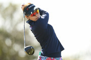 Rikako Morita of Japan hits her tee shot on the 13th hole during the second round of the Tokohama Tire PRGR Ladies Cup at Tosa Country Club on March 10, 2018 in Konan, Kochi, Japan.