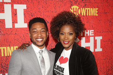 Yolonda Ross Jacob Latimore Premiere of Showtime's 'The Chi' - Arrivals