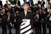"""Li Yuchun (Chris Lee) attends the screening of """"Yomeddine"""" during the 71st annual Cannes Film Festival at Palais des Festivals on May 9, 2018 in Cannes, France."""