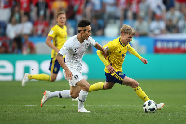 Sweden Vs. Korea Republic: Group F - 2018 FIFA World Cup Russia