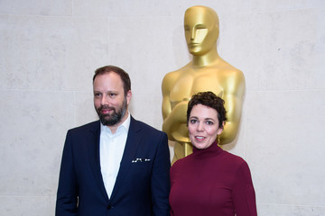 Yorgos Lanthimos The Academy Of Motion Picture Arts And Sciences New Members Reception - Red Carpet Arrivals