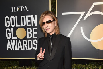 Yoshiki 75th Annual Golden Globe Awards - Executive Arrivals