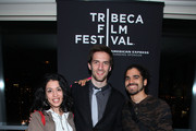 Producer Andrea Wong, Nicholas Brennan and Frank Lopez attend the YouTube Doc Filmmaker Party during the 2010 Tribeca Film Festival at the Rivington Penthouse on April 27, 2010 in New York City.