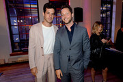 Mark Ronson and Derek Blasberg celebrate the launch of YouTube.com/Fashion on September 09, 2019 in New York City.