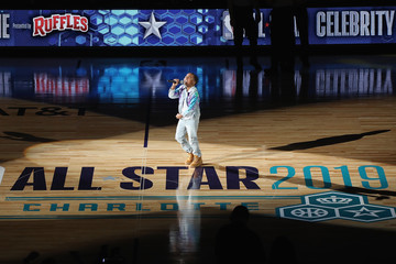 Young Dylan 2019 NBA All-Star Celebrity Game - Inside