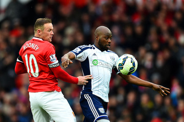 Youssuf Mulumbu Manchester United v West Bromwich Albion - Premier League