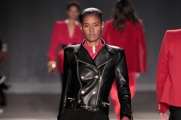 Ysaunny Brito BALMAIN X H&M Collection Launch - Runway