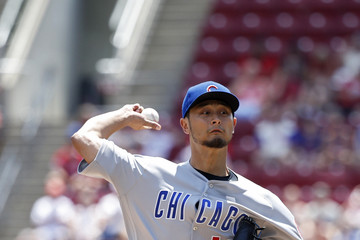 Yu Darvish Chicago Cubs vs. Cincinnati Reds