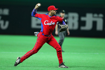 Yulieski Gourriel Brazil v Cuba - World Baseball Classic First Round Group A