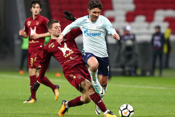 Yuri Zhirkov FC Rubin Kazan vs FC Zenit Saint Petersburg - Russian Premier League