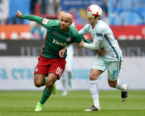 FC Lokomotiv Moscow vs FC Zenit Saint Petersburg - Russian Premier League